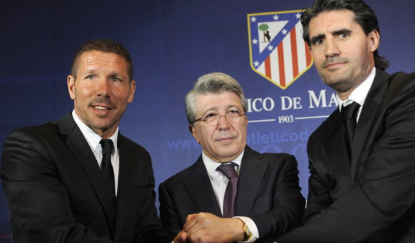 Diego Simeone renews contract with Atletico Madrid until 2024